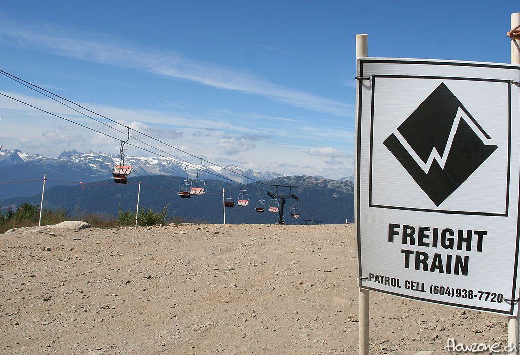 whistler bikepark freight train garbanzo