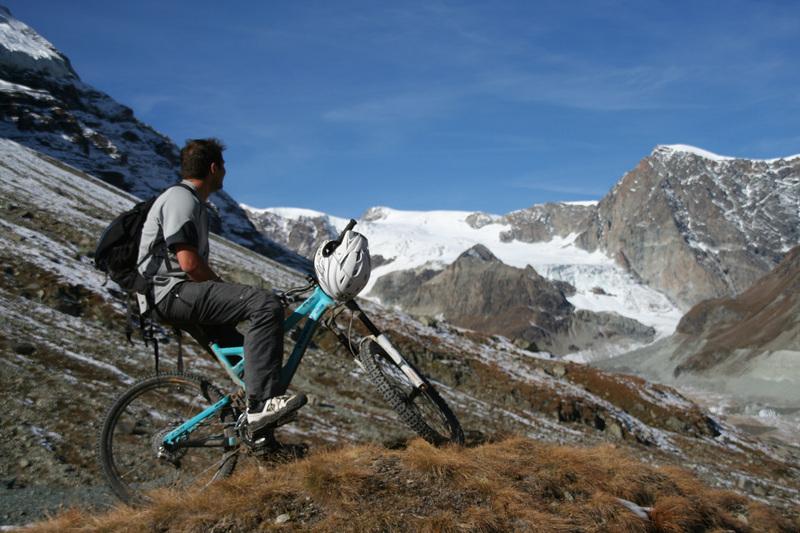 zermatt mtb matterhorn zmutt gletscher