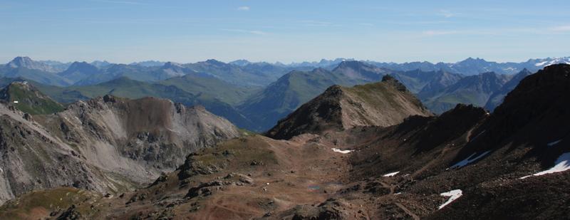 trek bike attack parpan rothorn aussicht panorama