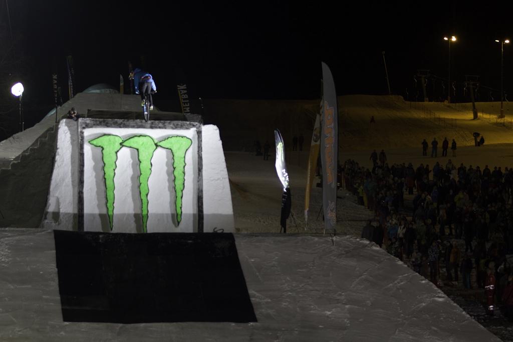 Monster Energy White Style 2012 Leogang