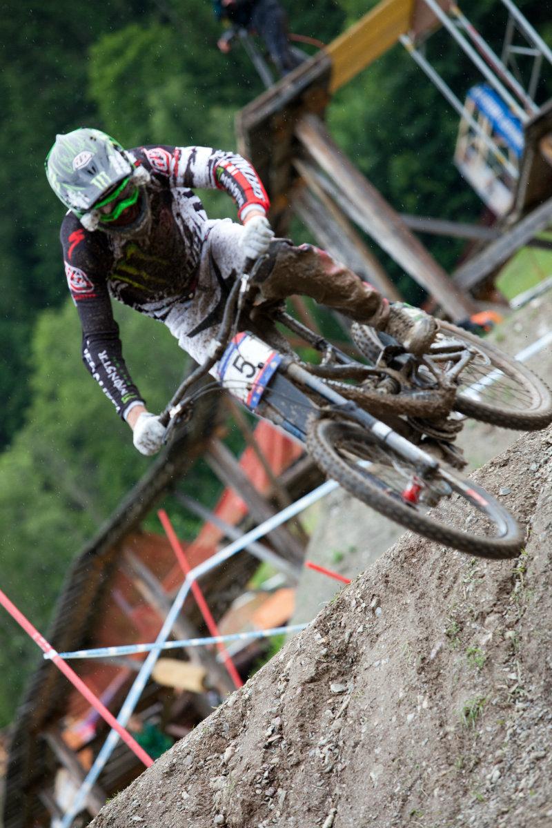 UCI WC Bikepark Leogang DH Brendan Fairclough
