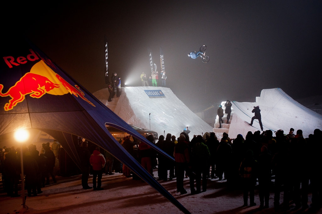 Adrian Tell am White Style 2013 in Leogang