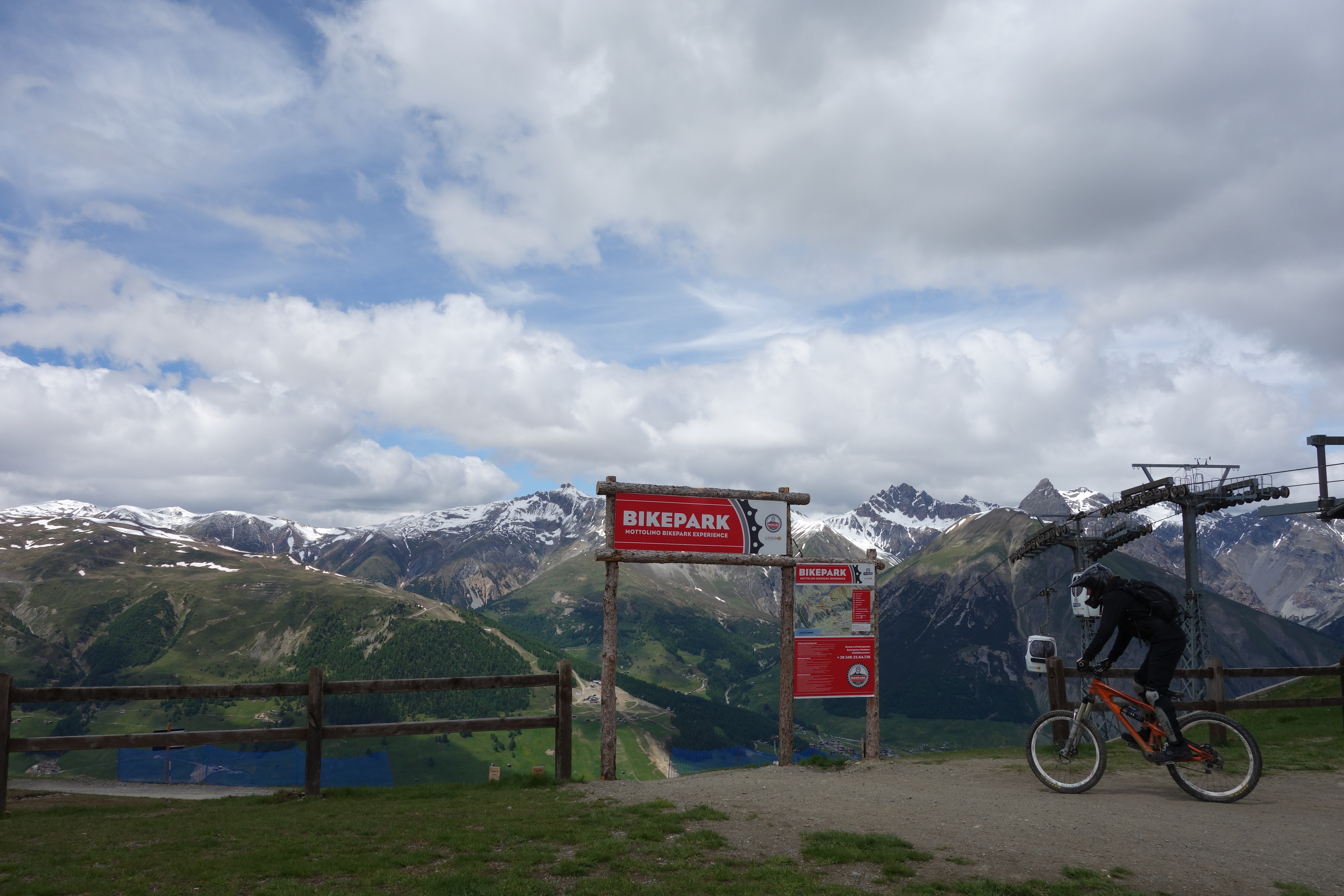 livigno mottolino trailhead bikepark downhill
