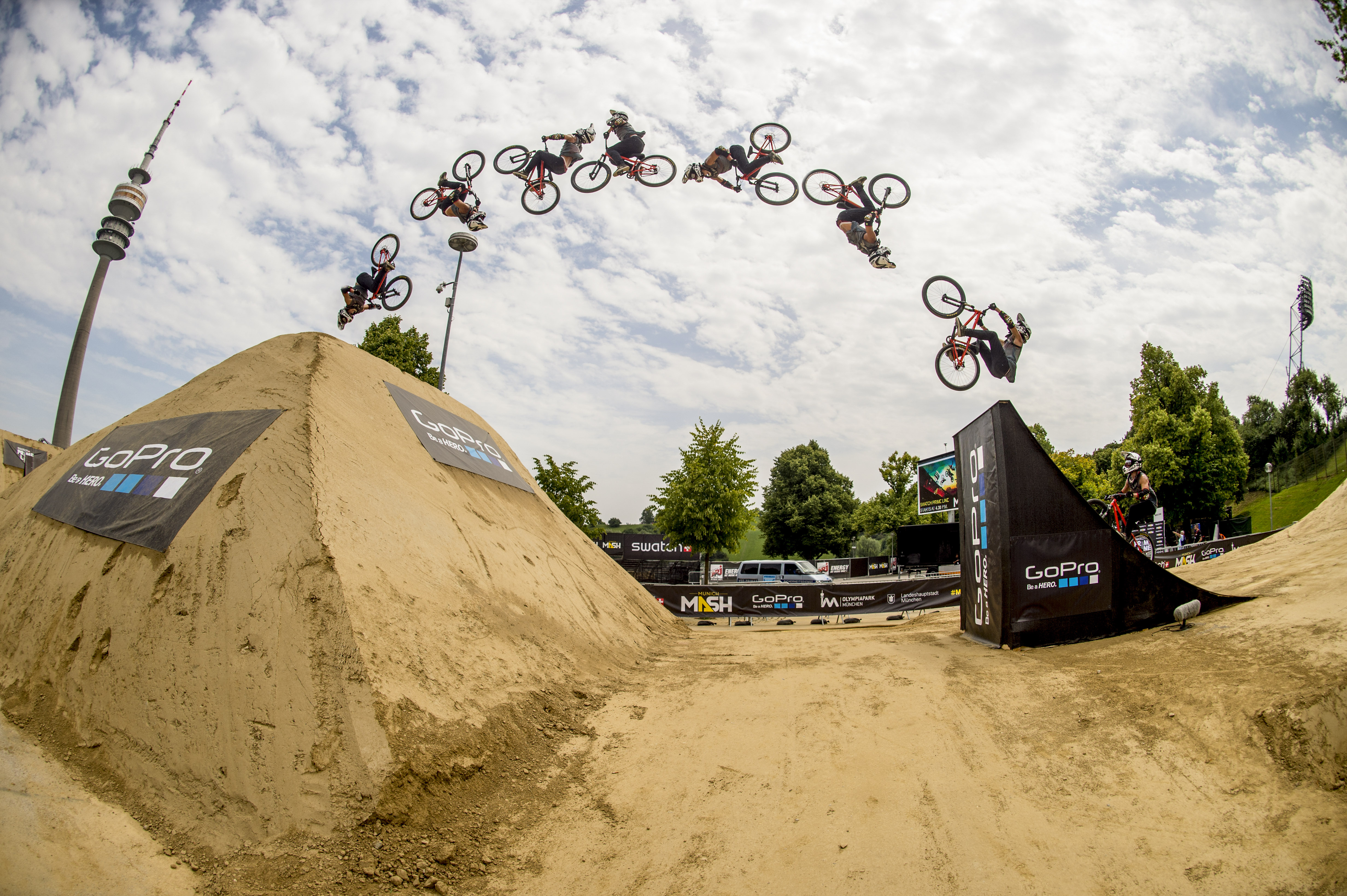 Antoine Bizet Swatch Prime Line Munich 2014, Photo: Christoph Laue