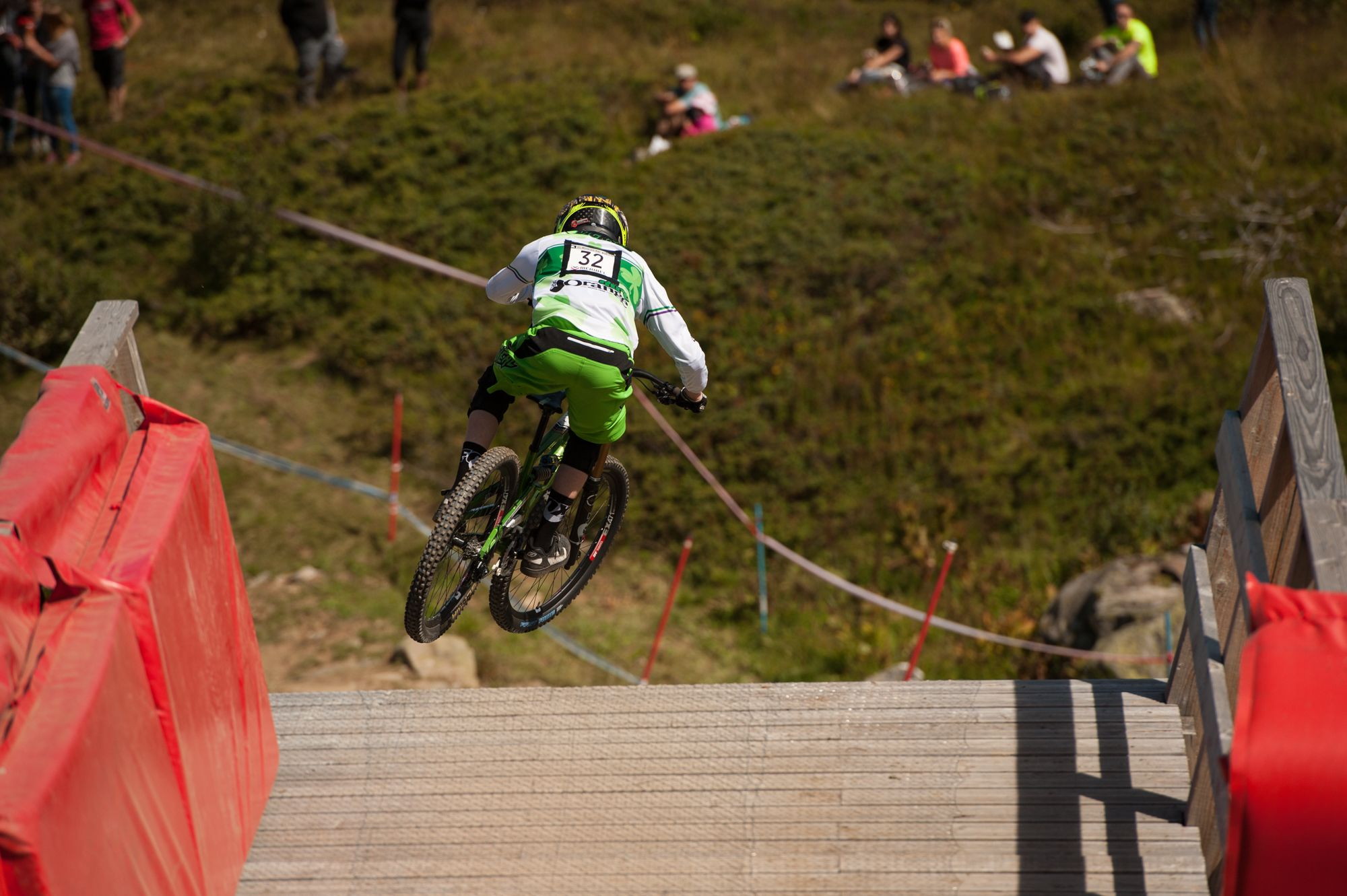 uci downhill worldcup meribel 2014