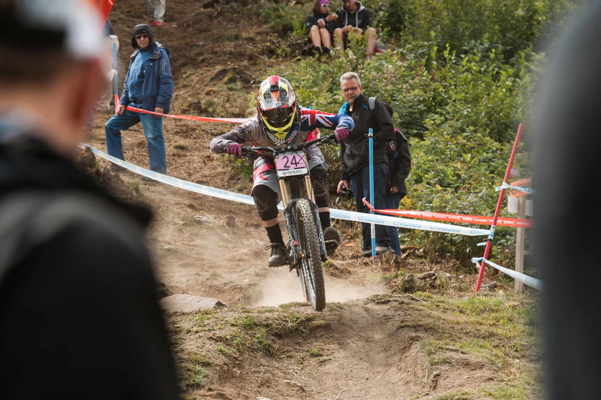 uci downhill worldcup meribel 2014