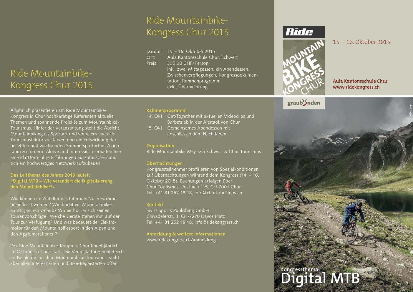 flyer ride mountainbike kongresse 2015