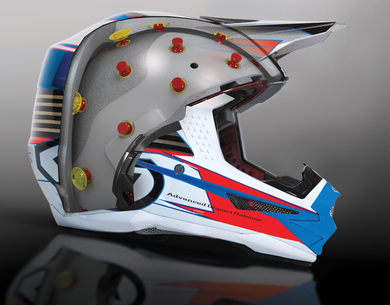 6d helm innenansicht querschnitt mtb helm