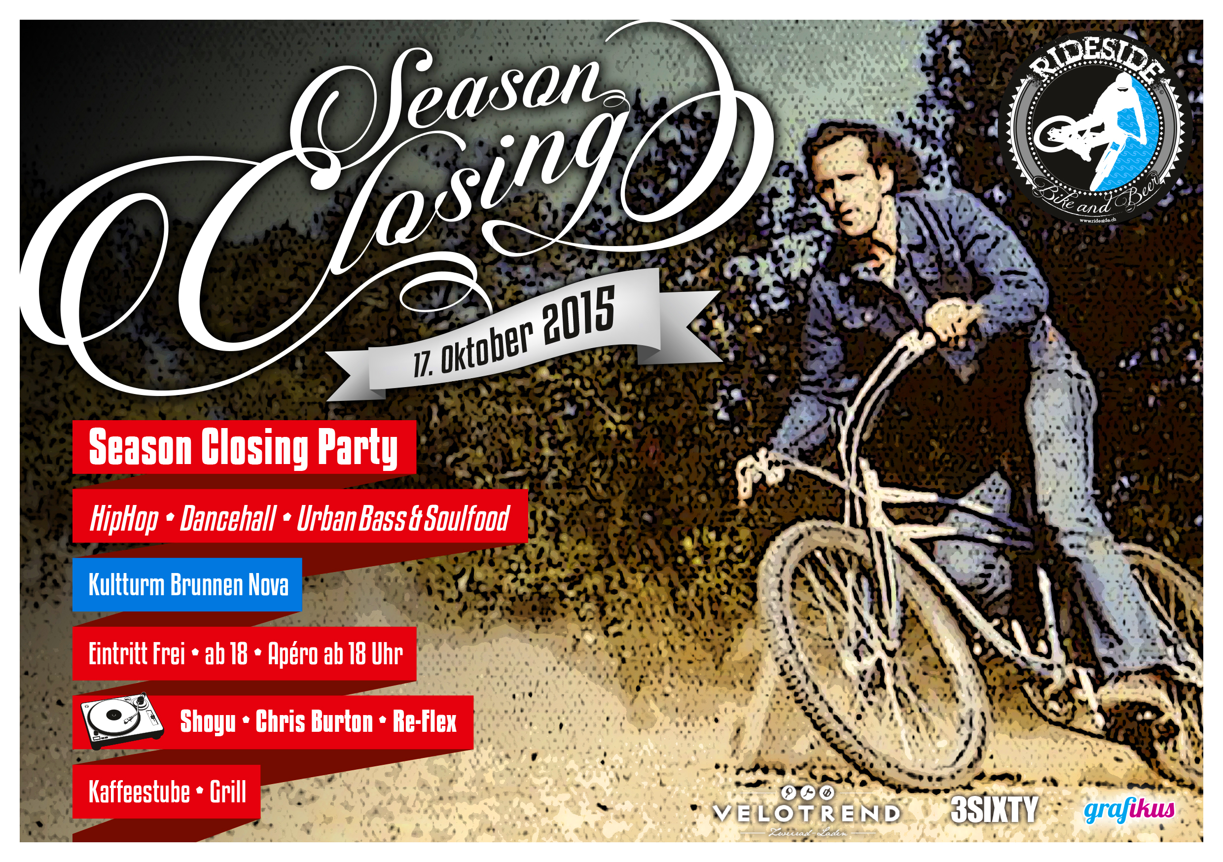 ride side season closing party