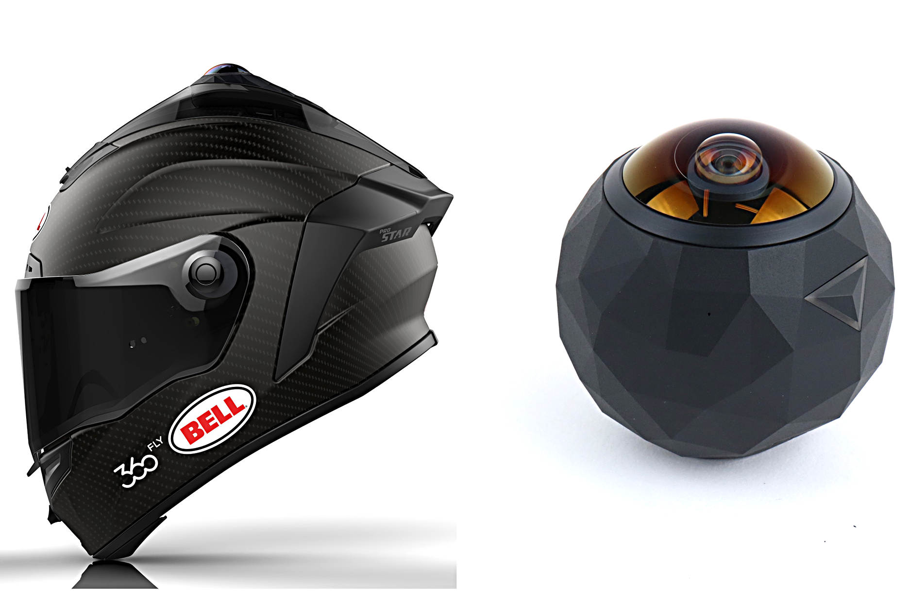 bell actioncam 360 camera helm