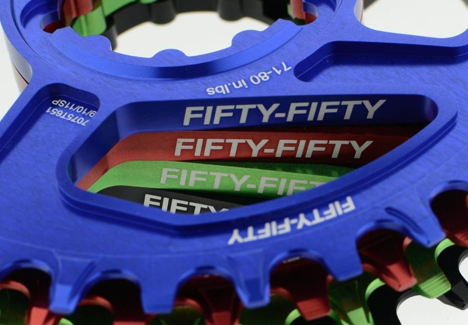 fifty-fifty chainring kettenblatt