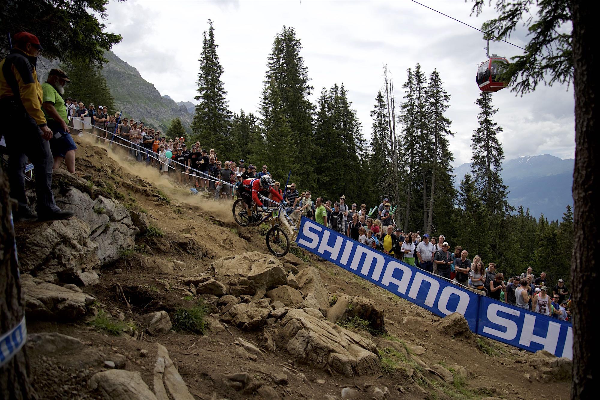 uci downhill weltcup lenzerheide 2016 mountainbike