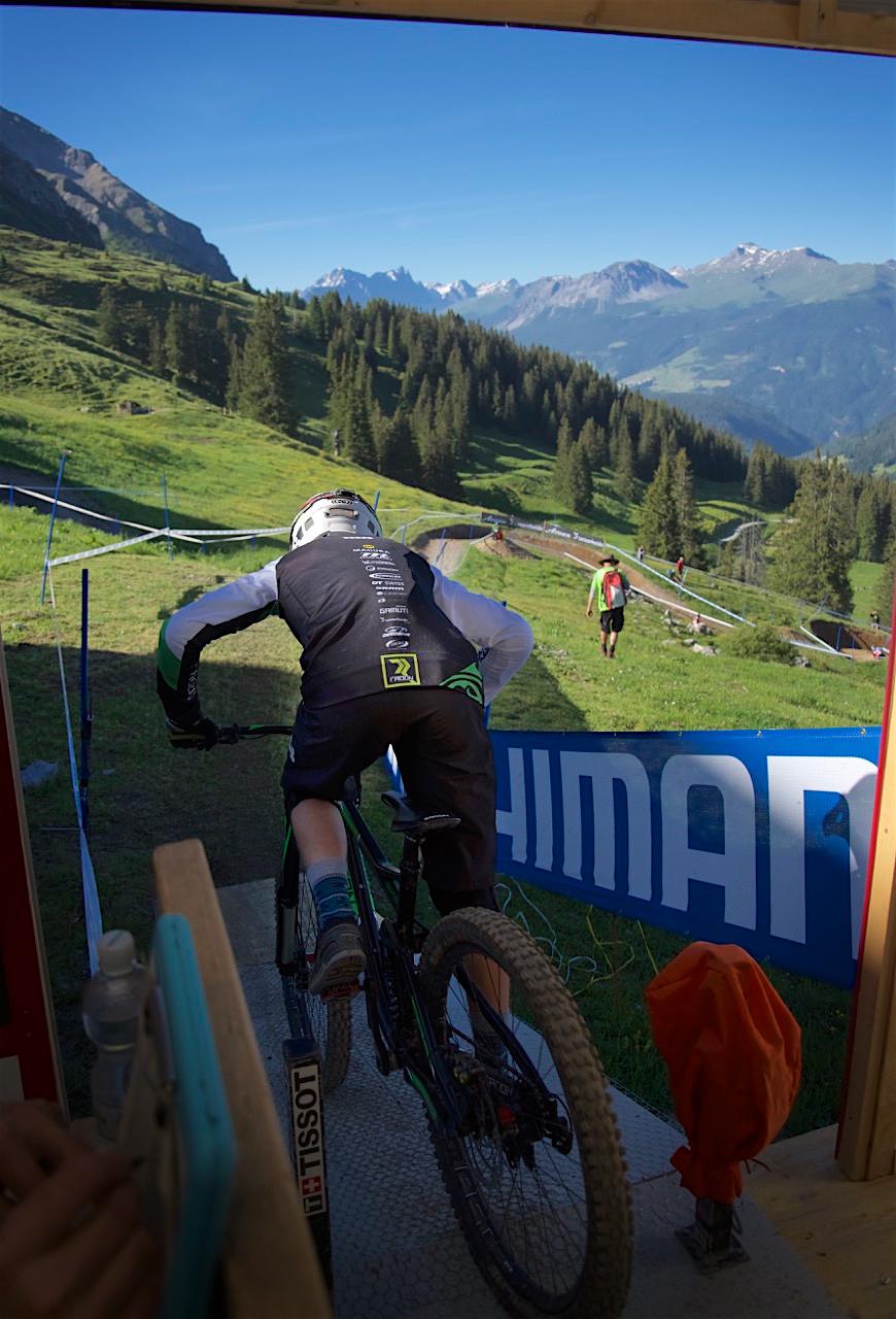 downhill worldcup lenzerheide 2016 startgate