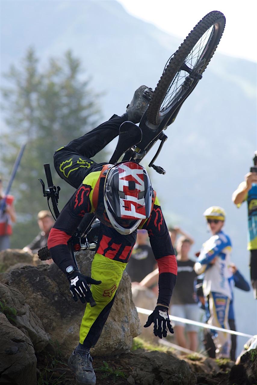 Thibaut RUFFIN downhill worldcup lenzerheide 2016