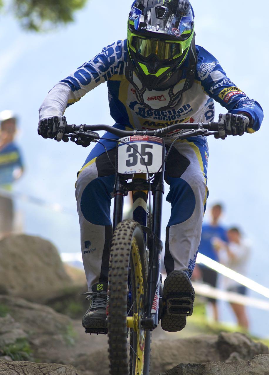 downhill worldcup lenzerheide 2016 sam hill