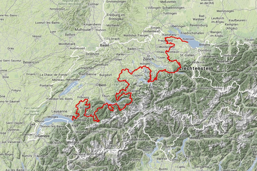 Navad 1000 Romanshorn Montreux