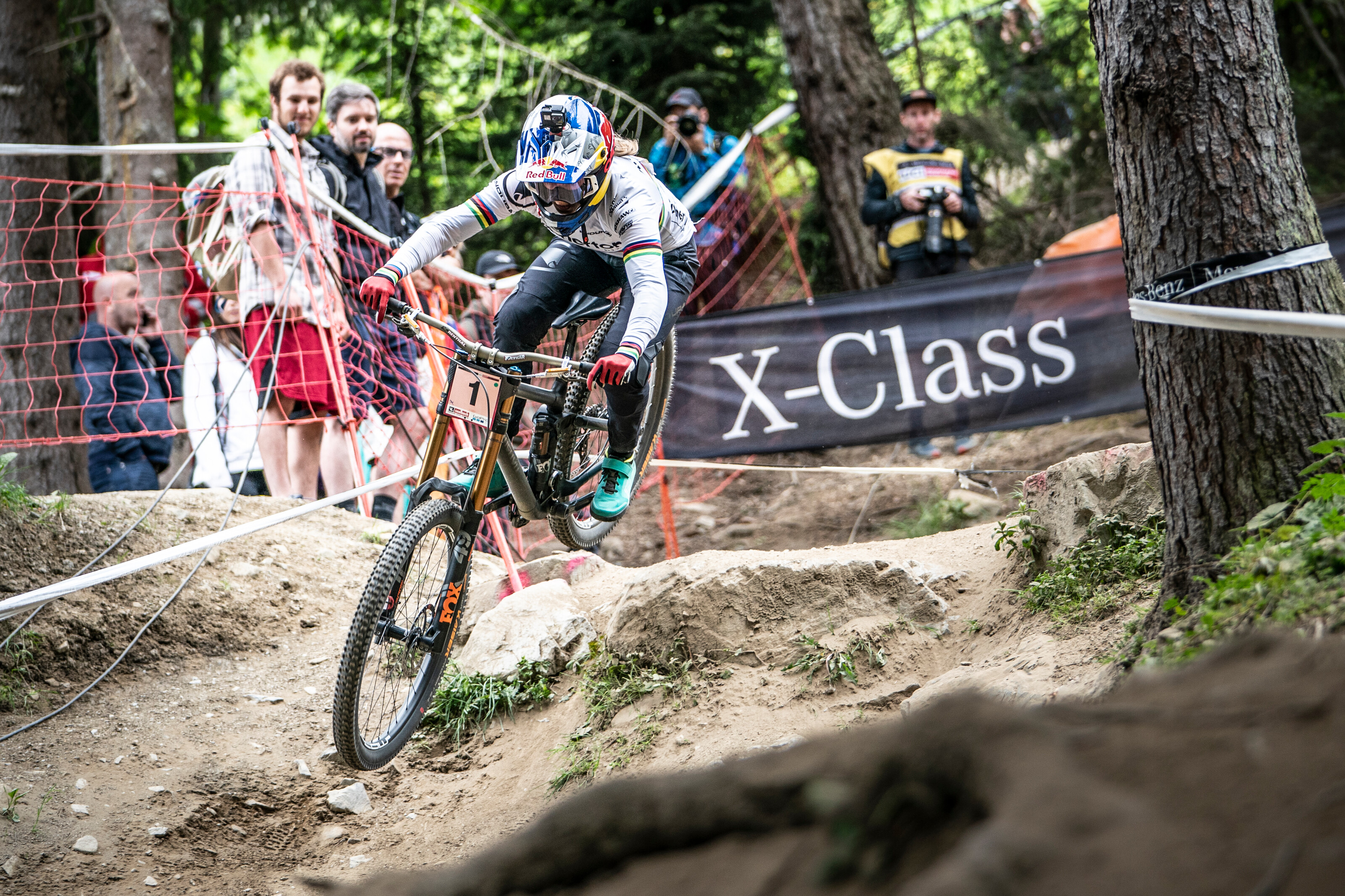 Rachel Atherton Downhill Worldcup Leogang 2019